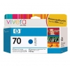 HP 70 130 ml Blue C9458A-5490