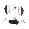 Kit Flash Estudio Tokura 5000 FTF-180 (3 Flashes)<BR><B>DESCUENTO 20%</B>-9118872