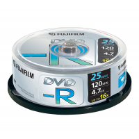 FUJI DVD-R 4.7GB TARRINA 25U-9799535