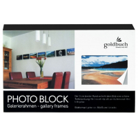 Marco PHOTO BLOCK negro 10x15cm-9809449