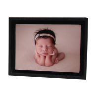 FLOAT FRAME 15x20cm, madera negro-9809472