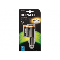 Duracell 12V In-Car Multiplier + 1A USB -9809524