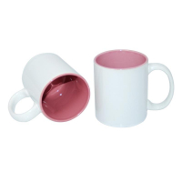 Taza sublimación interior color rosa-9809963