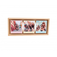 FLOAT FRAME INSTANT 3x (9x10) madera natural -9810053