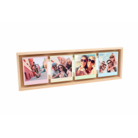 FLOAT FRAME INSTANT 4x (7,5x10) madera natural-9810056