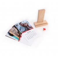 Calendar Holder Madera + Mini pinza-9810075