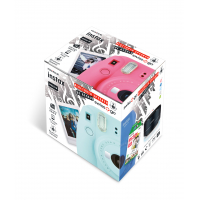 INSTAX MINI 9 <B>FLAMINGO PINK</B> + film 10 pk + <B> REGALO ALTAVOZ Swiss+Go</B>-9810228
