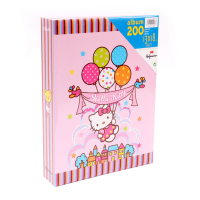 Álbum Hofmann 200 fotos 13x18 Hello Kitty rosa slip-in 1813-9810405