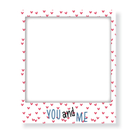 Magnet Frame You and Me - 10538 - 10x12cm-9810478