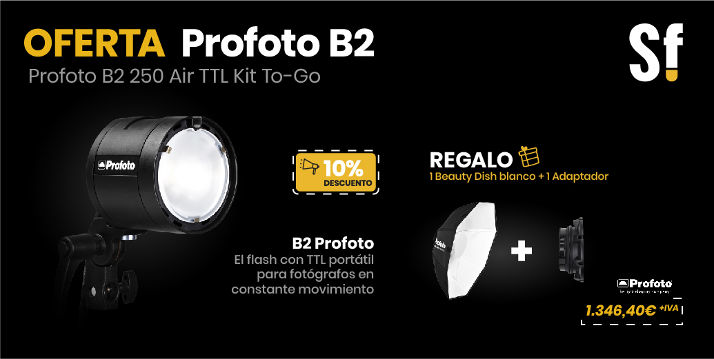 Profoto B2 250 Air TTL Kit To-Go 10% DTO + REGALO